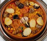 Arroz al horno (Oven-baked rice)