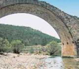 Bridge at the Mijares river