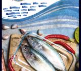 Cartel anunciador de la III Muestra de cocina tradicional El Campello. 2018.