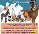 SAN ANTONIO ABAD. PATRÓN Y PROTECTOR DE LOS ANIMALES.