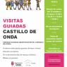 VISITAS GUIADAS GRATUITAS EN EL CASTILLO DE ONDA