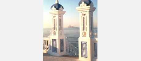 Foto: Balcón del Mediterráneo en Benidorm