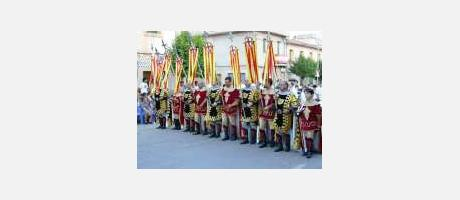 Img 1: The Patron Saint Feast Days of the Moros y Cristianos de San Pedro Apóstol (Moors and Christians of Saint Peter the Apostle)