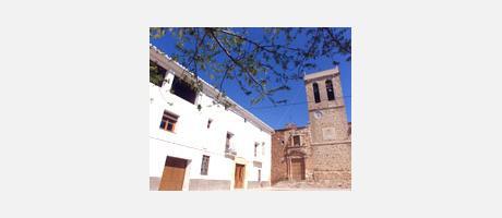 Img 1: Iglesia parroquial del Salvador