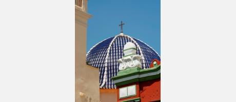Img 1: Antigua iglesia parroquial de San Agustín Obispo (actual Auditorio Municipal)