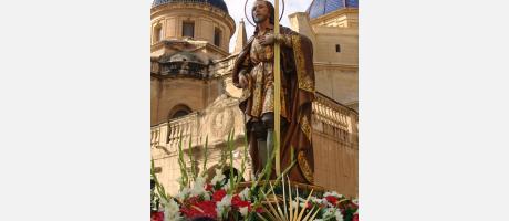 San Agatángelo, patrón de Elche