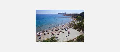 Img 1: Playa de Cabo Roig (Playa Caleta)