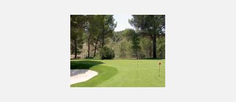 Img 1:  Pitch and Putt Cofrentes Golf