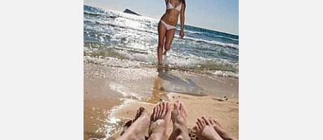 Playa de Levante, Benidorm
