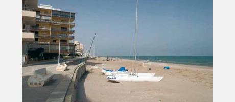 Foto: Playa Mareny de Barranquetes / Rey