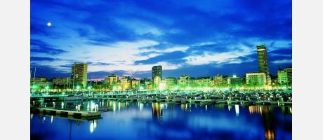 Alicante desde el Puerto
