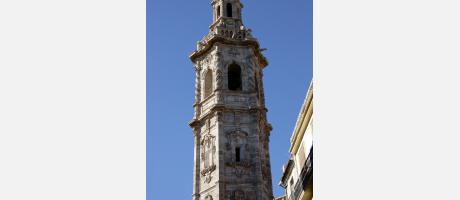 Valencia - Campanario de la Iglesia de Santa Catalina