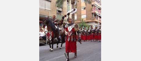 Photo: Moors and Christians festival in Ontinyent