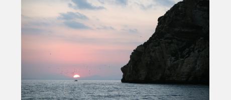 Faro de la isla de Benidorm