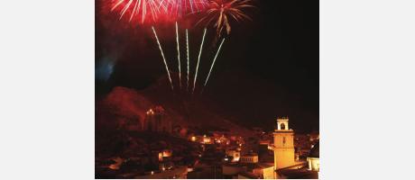 Img 1: Fiestas patronales y de moros y cristianos en honor a San Roque
