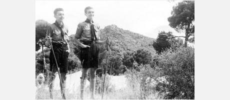 Img 1: Siempre listos. 100 años de movimiento Scout en Valencia en el Monasterio de San Miguel de los Reyes de Valencia