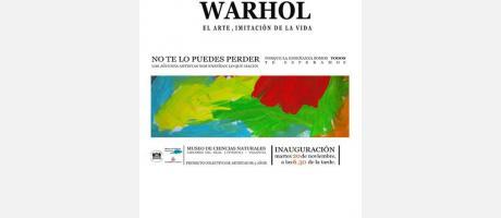 Cartel oficial de Naturaleza Warhol