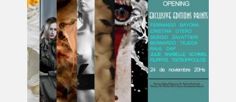 Img 1: Exclusive Editions Prints en la Galería Kir Royal de Valencia