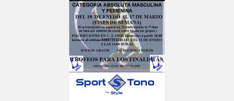 "Img 1: XXII Open de Tenis Villa de Onil ""Sport Tono"" 2013"