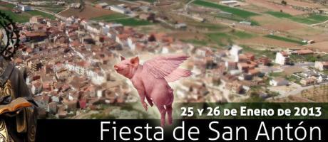 Img 1: FIESTA DE SAN ANTÓN - TITAGUAS  2013