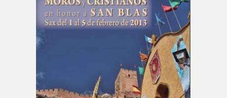 Img 1: Moros y Cristianos en honor a San Blas 2013
