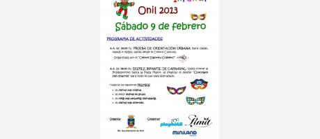 Img 1: Carnaval Infantil Onil 2013