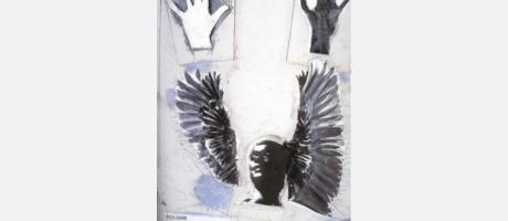 Img 1: Los derechos humanos en carteles en el Instituto Francés de Valencia