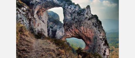 Img 1: Ruta els Arcs i la Penya Escoda en Castell de Castells.