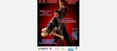 cartel del XII Trofeo de Baile Deportivo Ciudad de Manises