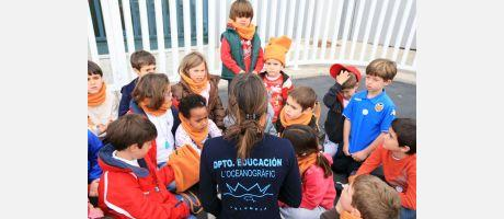Img 2: Come to the Easter School at the Oceanográfic and Bioparc!