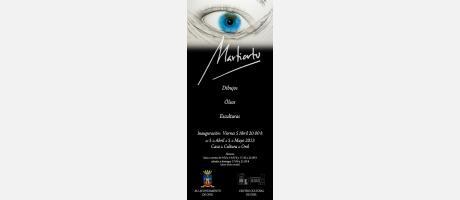 """Img 1: Exposición: """" Martiartu y mi mundo de sueños"""""""