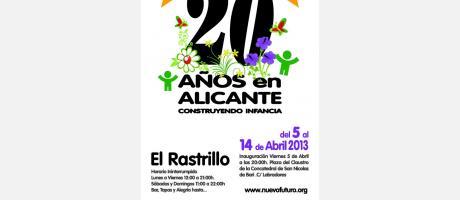 Img 1: Rastrillo Nuevo Futuro. Alicante 2013.