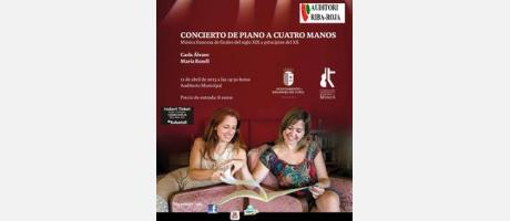 Img 1: Concierto de piano a cuatro manos