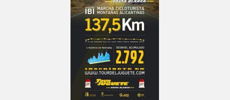 Img 1: 3ª Marcha cicloturista TOUR del JUGUETE Costa Blanca  Ibi 2013