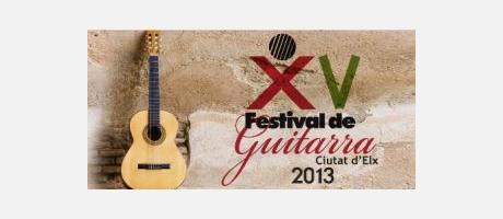 cartel Festival Guitarra Elx