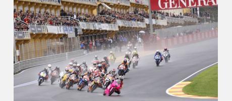 Fin de semana de motos en Cheste