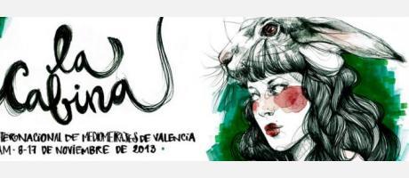 Cartel anunciador del festival La Cabina