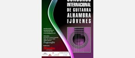 Cartel anunciador del Concurso Internacional de Guitarra