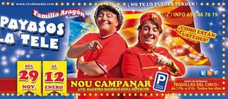 Imagen flyer Circ de Nadal