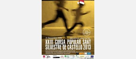 Cartel San Silvestre 2013