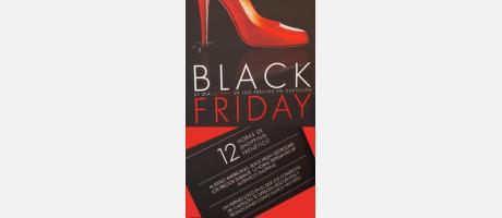Cartel oficial del 'Black Friday' Castellón 2013