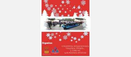cartel navidad feria 2013