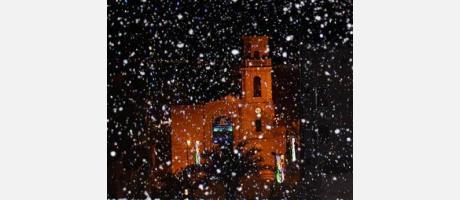 Pilar de la Horadada nevada
