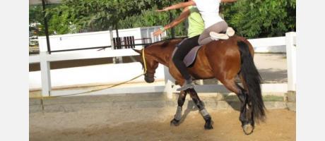 Equitación en el Más de Xetà