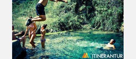 El río Palancia con Itinerantur