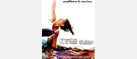 Cartel del II Congreso de Yoga Valencia