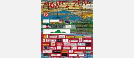 Cartel oficial XI Subida al Montí de Onda