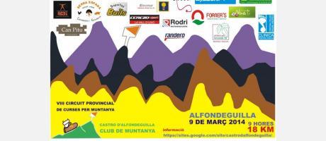 VIII Carrera de Montaña Castro d'Alfondeguilla