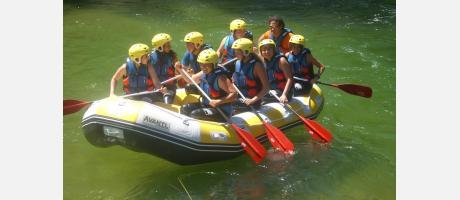 Rafting con Valencia Adventure