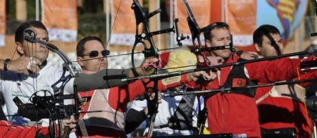 imagen participantes tiro con arco